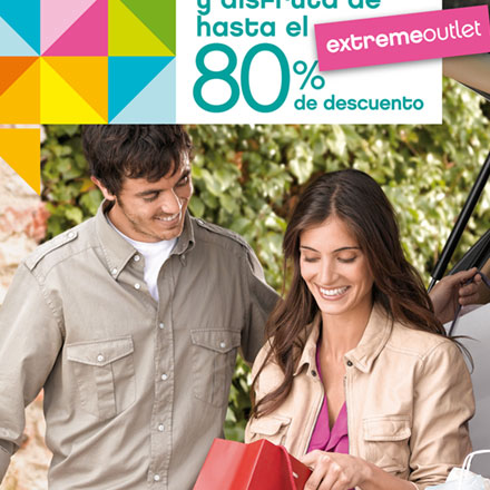 Campaña publicidad extreme The Style Outlet