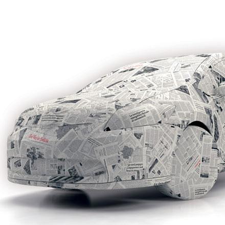 Publicidad Toyota Auris La Voz de Galicia