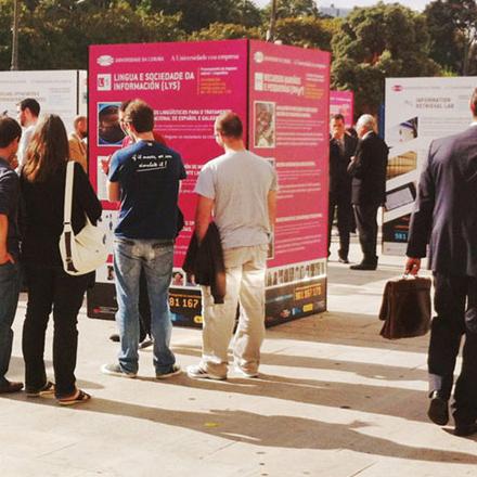 Diseño editorial y evento publicitario para Universidade da Coruña